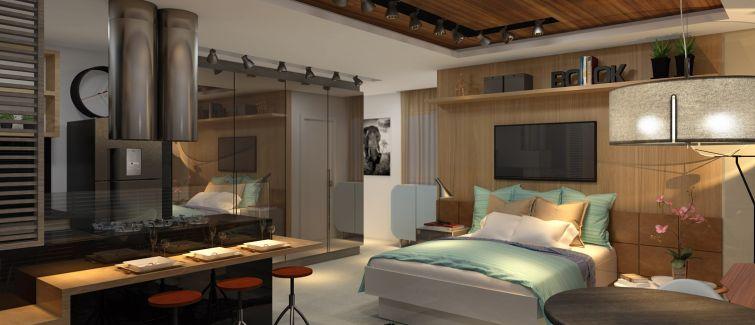 Customizações tornam espaços únicos em ambientes confortáveis