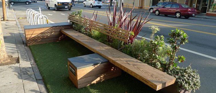 Parklet surgem como novidade em benefício a comunidade