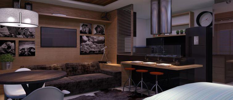 Vista 240 possui studio inspirado na África