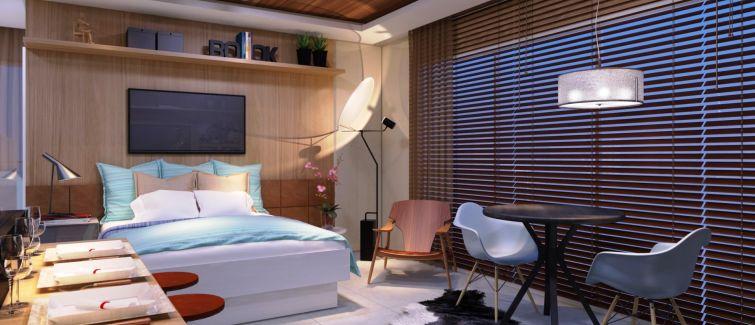 O que é um apartamento em formato studio?